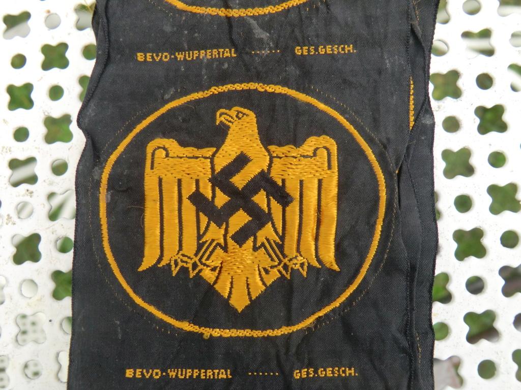 Insigne allemand en tissu à identifier svp Cimg9111
