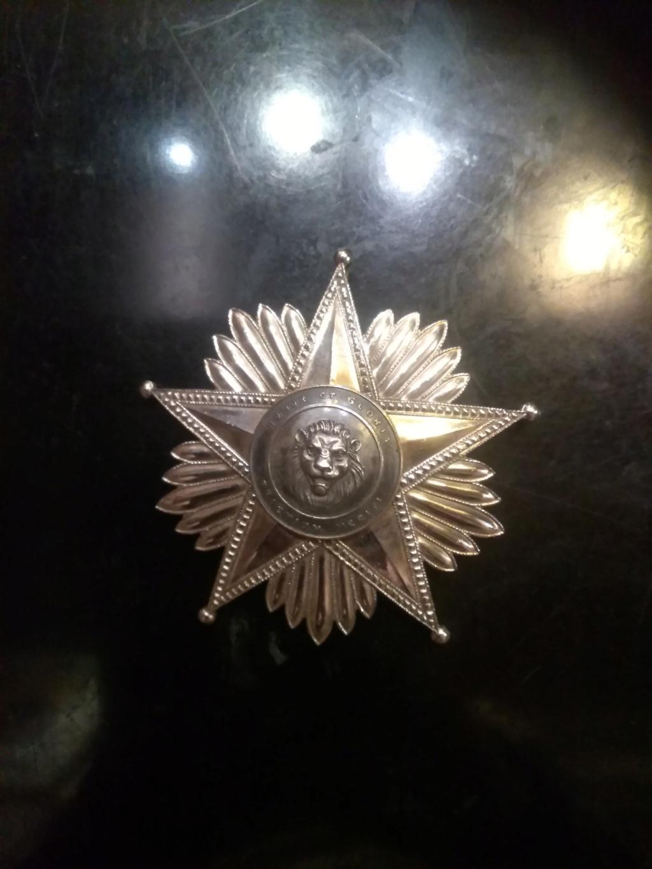 Plaque Ordre du Mérite Paraguay Img_2086