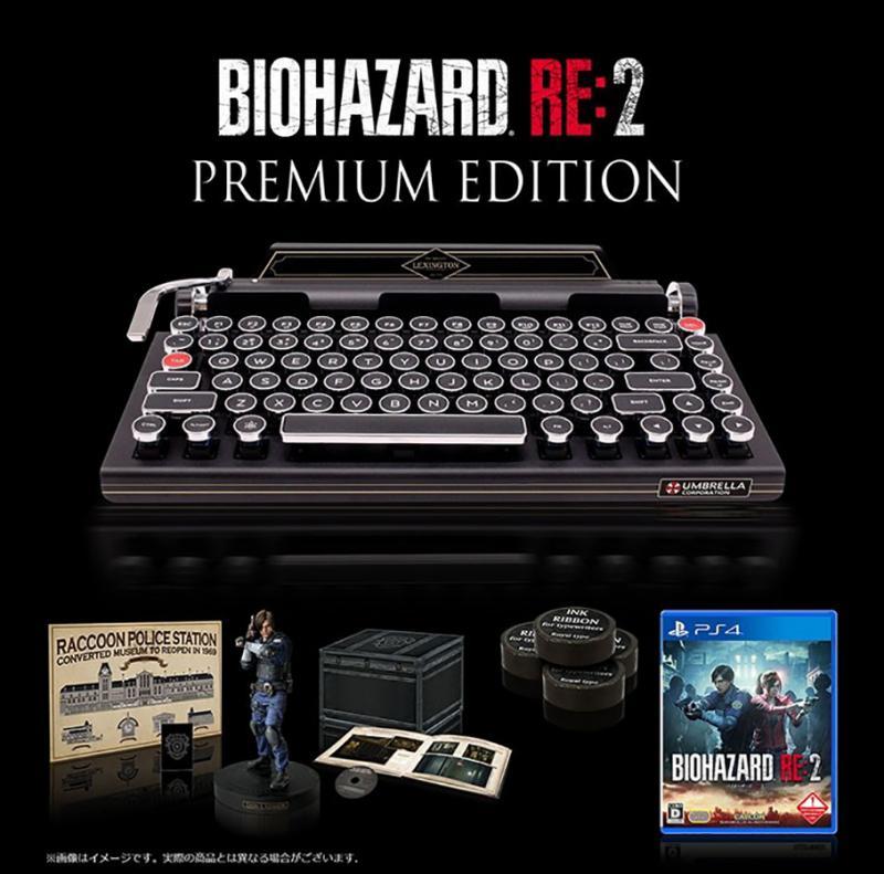 Премиальное издание ремейка Resident Evil 2 111