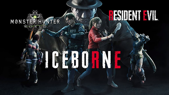 Monster Hunter World: Iceborne получит обновление из Resident Evil 2 2895f611