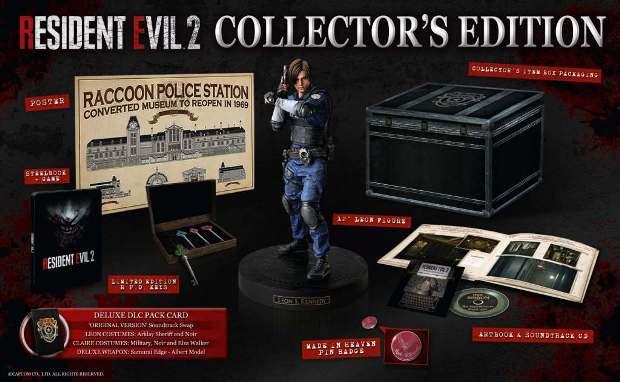 Коллекционное издание Resident Evil 2: Remake E05m4a10