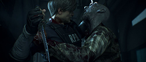 Resident Evil 2: Remake с одним ножом Remeyk10