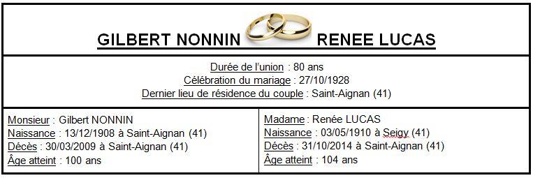 E- LES PLUS LONGS MARIAGES FRANÇAIS Epoux_10