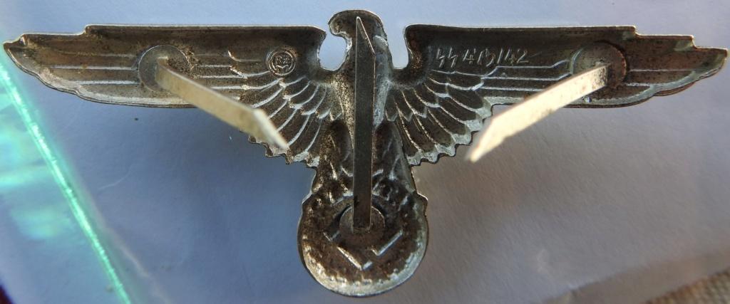 aigle casquette officier ss Dscn6717