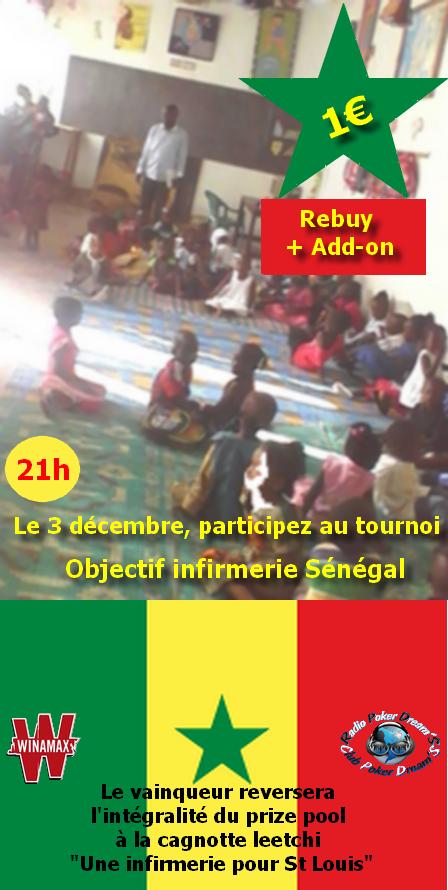 "Tournoi caritatif "" objectif infirmerie Sénégal '"" Senega12"