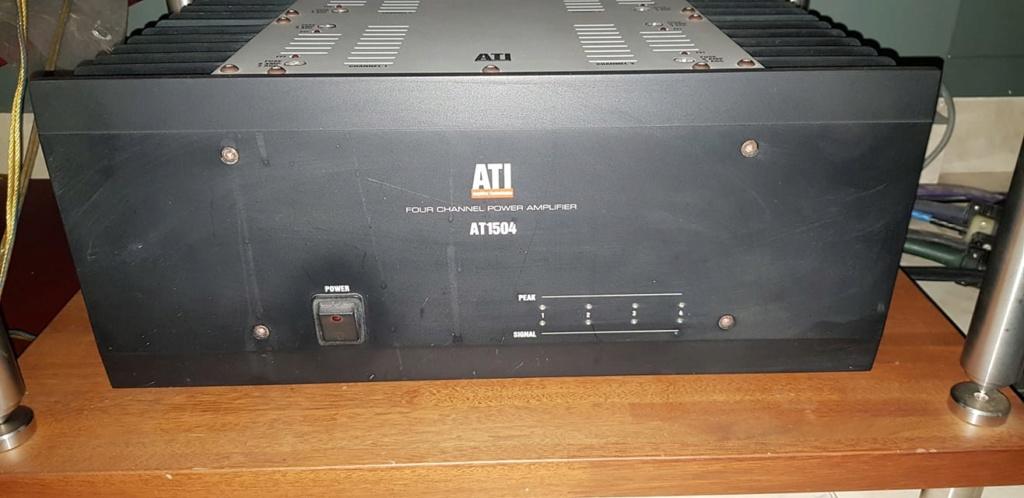 ATI 1504 4Channel power amp 46491610