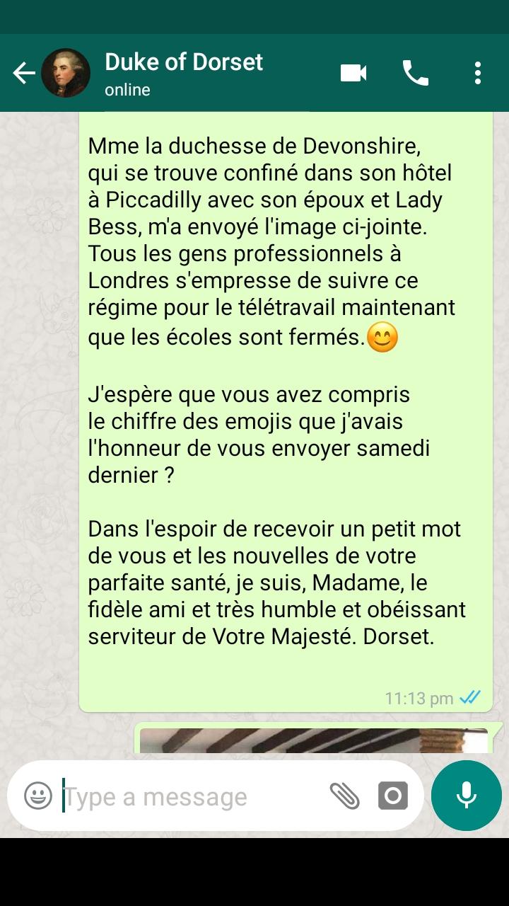 Confinement à Trianon... les inédits de la Reine - Page 2 Screen19