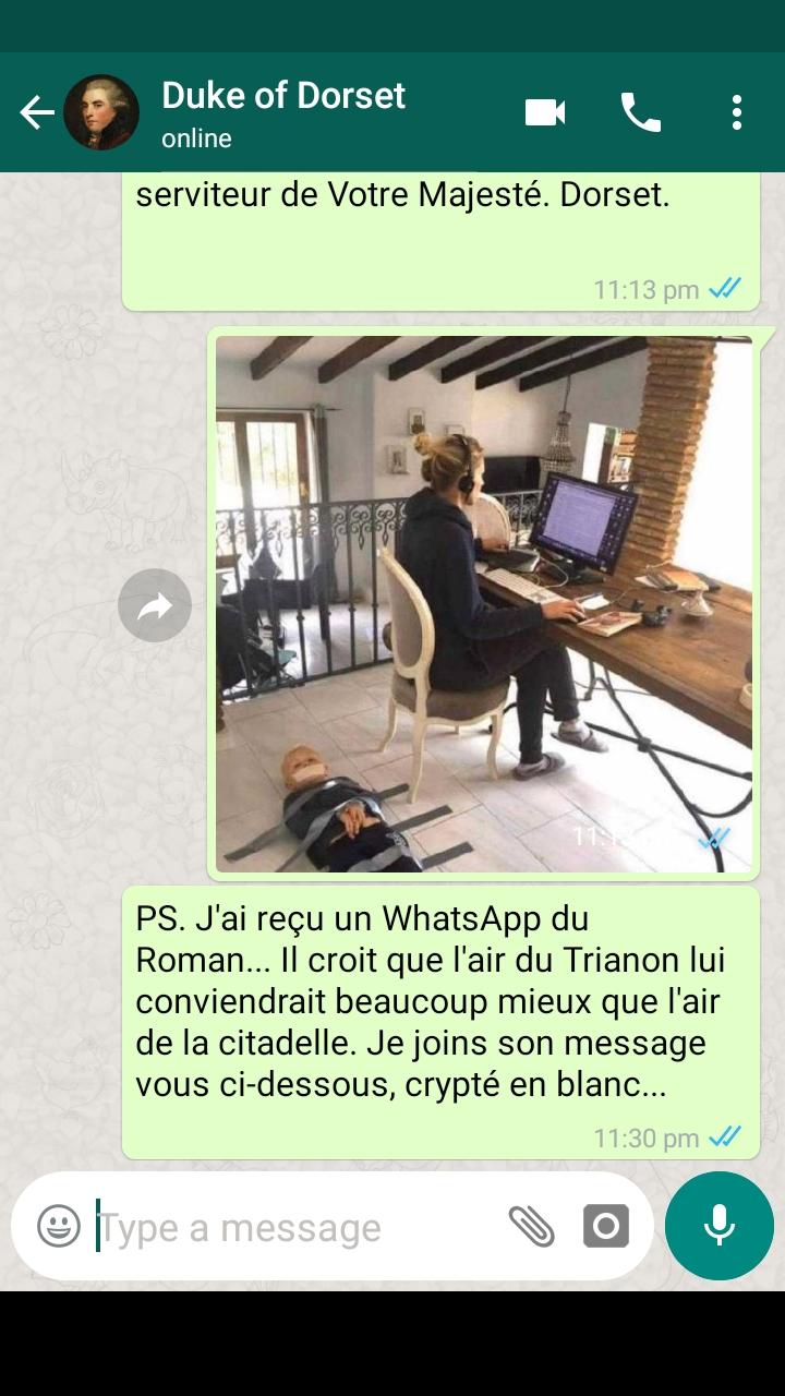 Confinement à Trianon... les inédits de la Reine - Page 2 Screen23