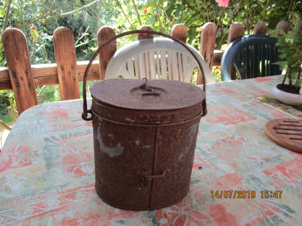 gamelle nécessaire individuel de campement modèle 1888 Bouthe12