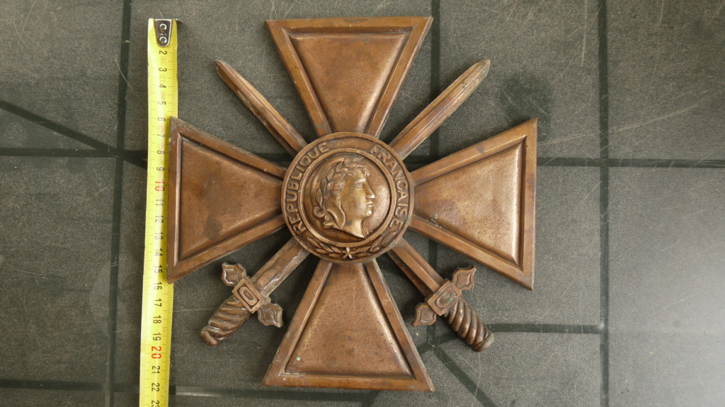 Croix de guerre très grand module P1030611