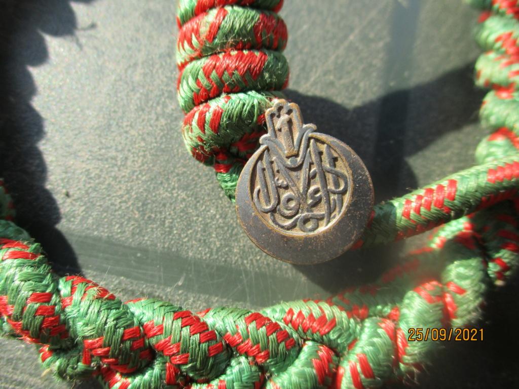 Fourragère croix de guerre 14/18 et insigne 1er RTA Rta110
