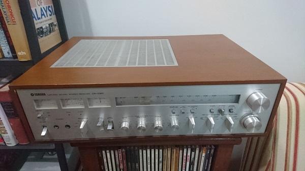 Vintage Yamaha Receiver CR1020 + FREE Sansui DD Turntable Dsc_0111