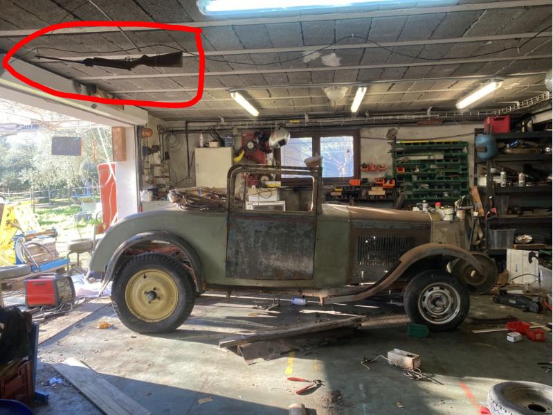 Restauration de la 201 Cabriolet de Tibo - Page 8 Fusil10
