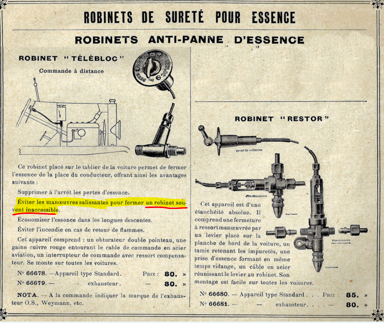 restauration d'une Citroen B10 torpédo commercial de 1923 - Page 2 Robine10