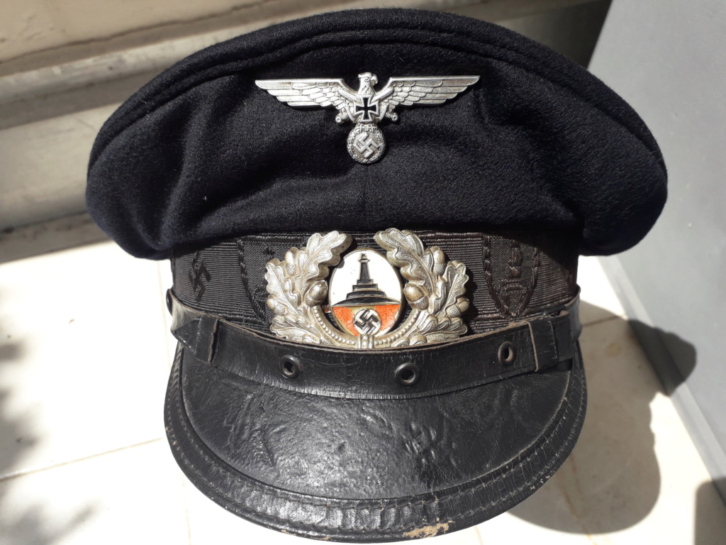 Une casquette de vétéran Allemand 20200516