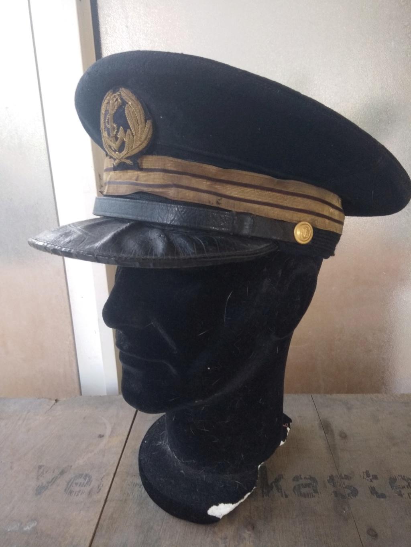 Une casquette de la Marine Nationale fabrication locale ? époque ? Img_2052
