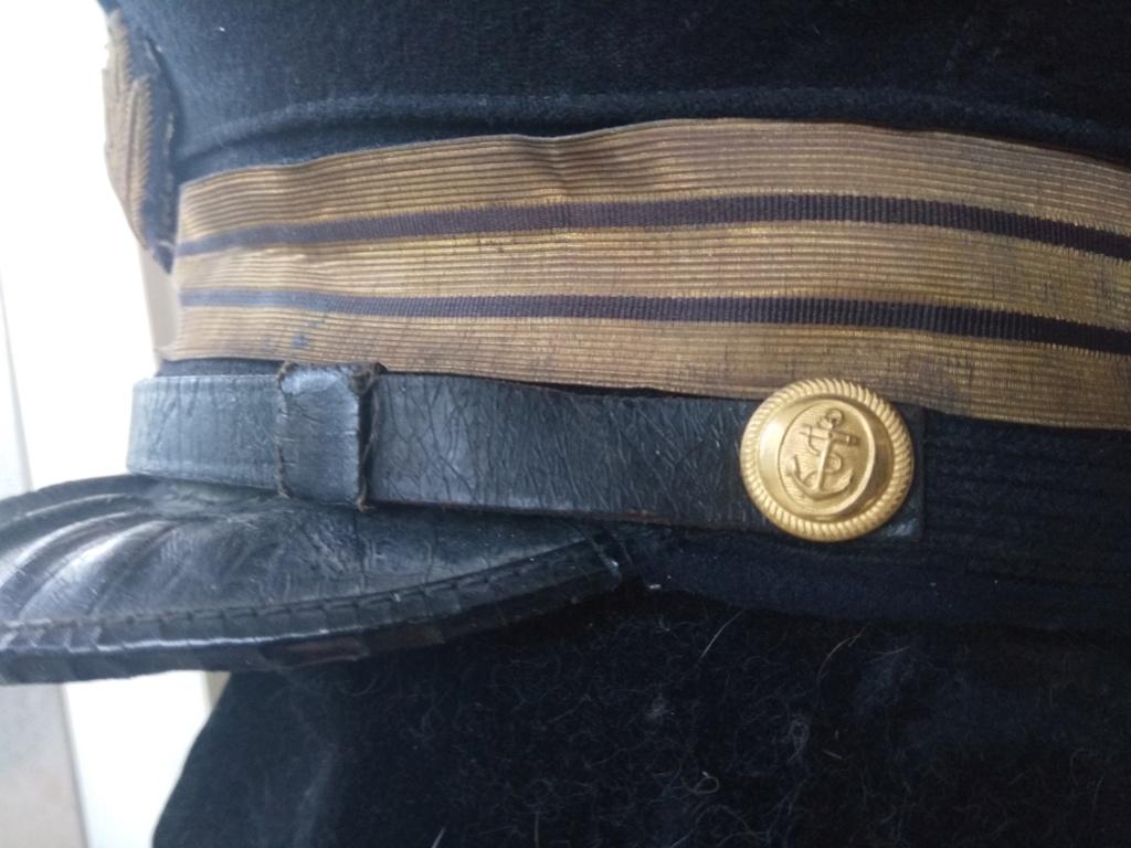 Une casquette de la Marine Nationale fabrication locale ? époque ? Img_2053