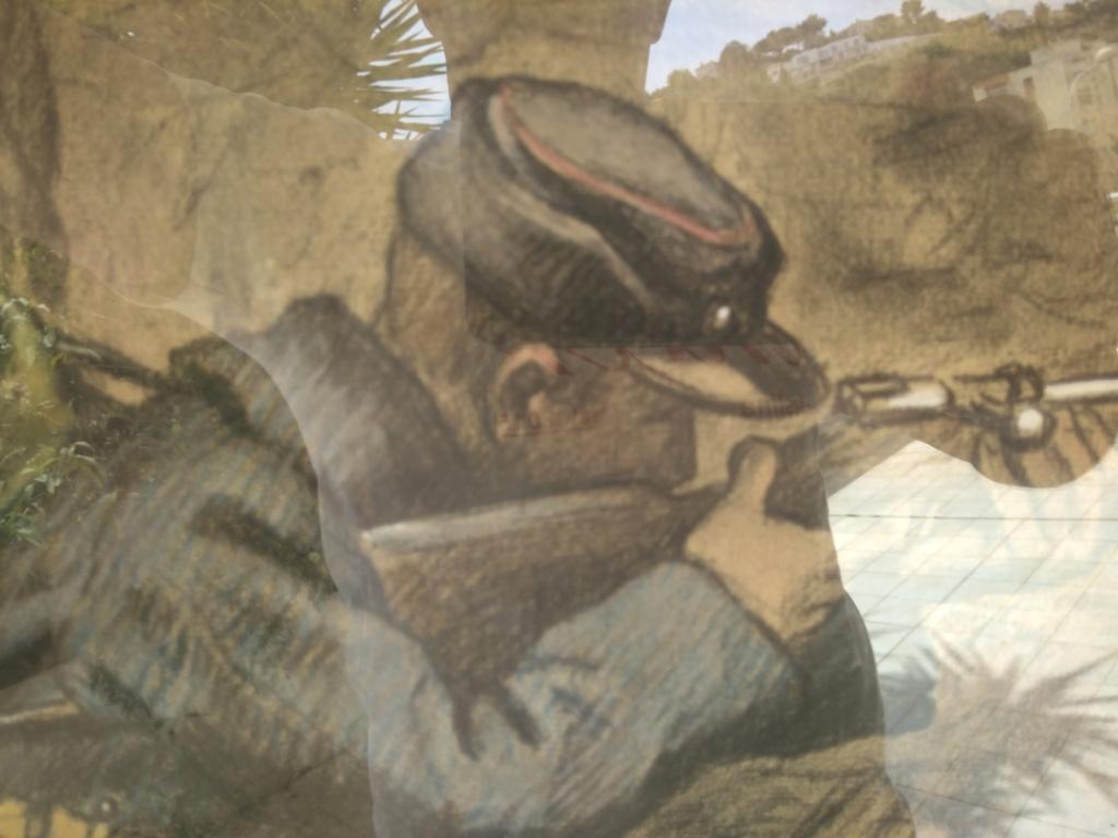 Un dessin de 1914 ? poilu ? Img_2187