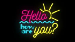 Ako sa dnes máš? 12 How910