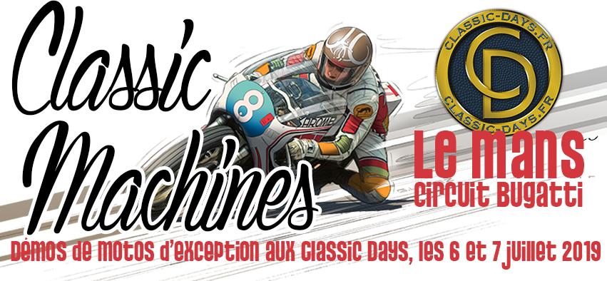 Classic machine au classic days circuit Bugatti au Mans  2la6p910