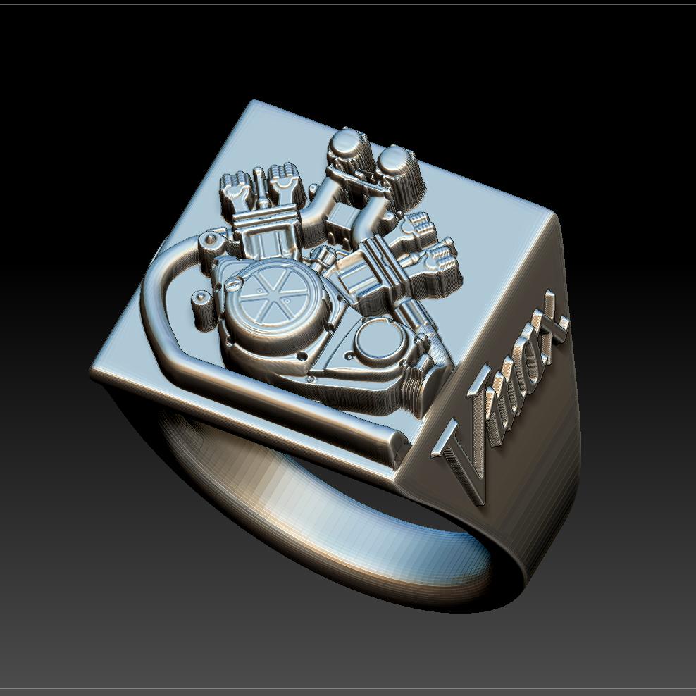 Pièces Vmax en 3D à imprimer chez soi impression 3D - Page 3 Bague_10