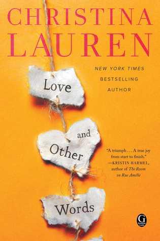 Love and other words de Christina Lauren 36206510