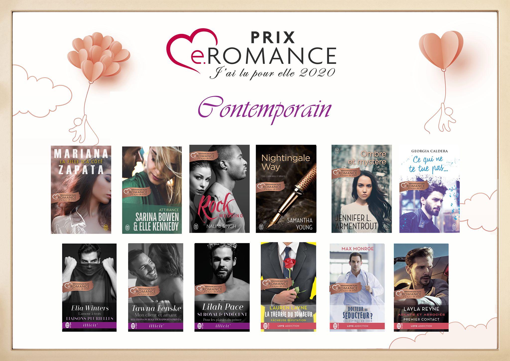 Prix e.Romance J'ai Lu Pour Elle 2020 87329610