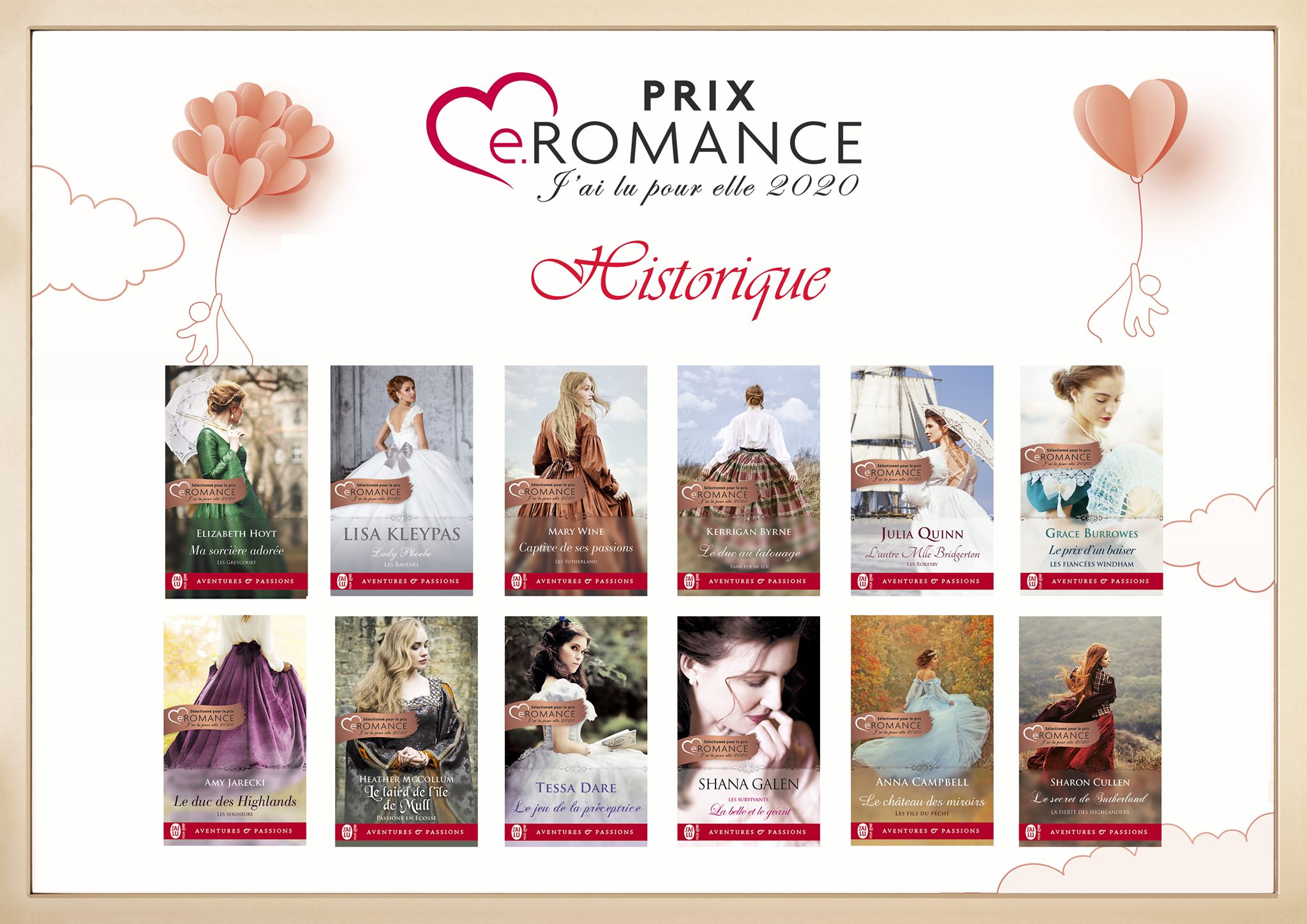 Prix e.Romance J'ai Lu Pour Elle 2020 87365310