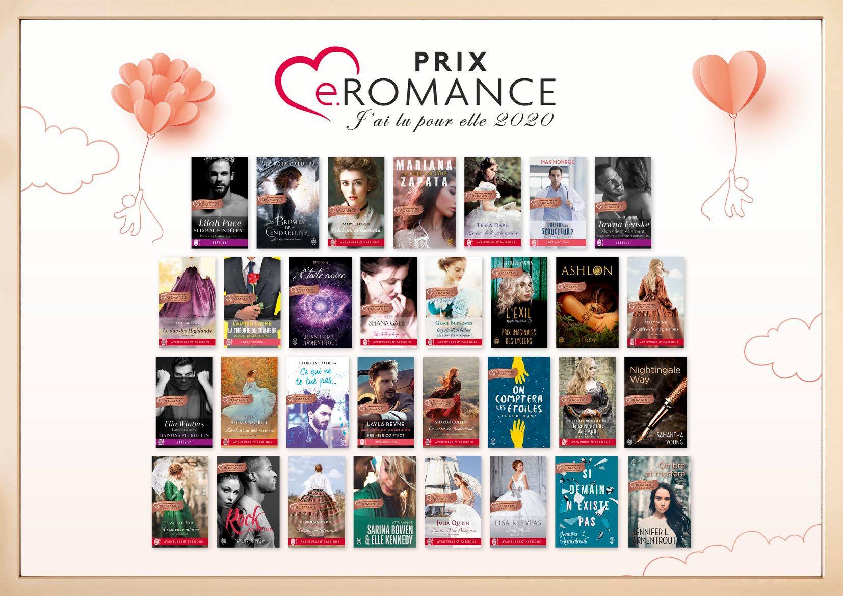 Prix e.Romance J'ai Lu Pour Elle 2020 Affich11
