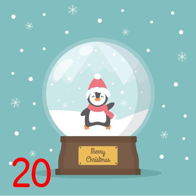 {Calendrier de Fêtes} BdP fête Noël 2020 !  Boule_19