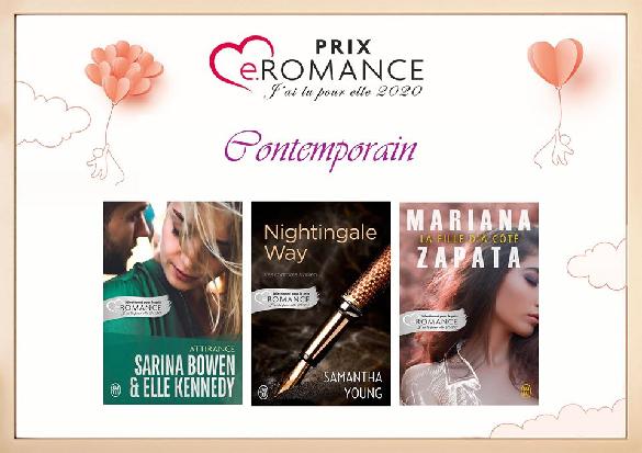Prix e.Romance J'ai Lu Pour Elle 2020 Contem10