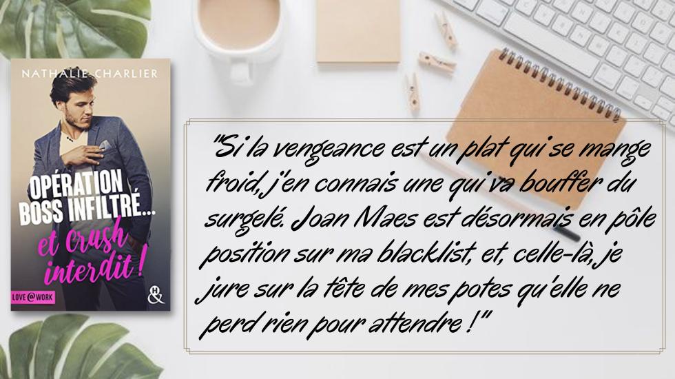 Opération boss infiltré ... et crush interdit ! de Nathalie Charlier En-tzo14