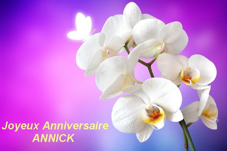 JOYEUX ANNIVERSAIRE ANNICK 00110
