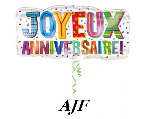 JOYEUX ANNIVERSAIRE AJF Ballon10