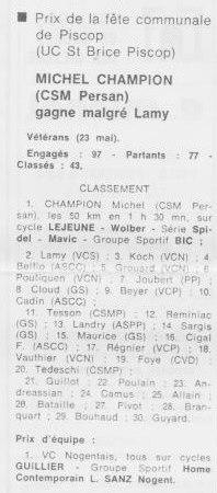 CSM.Persan.BIC. Toute une époque de juin 1974 à......... - Page 15 05911
