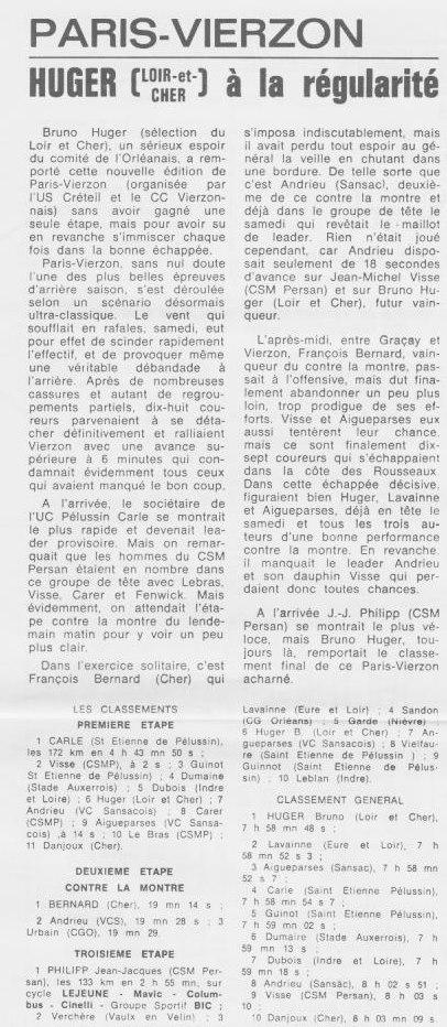 Coureurs et Clubs de septembre 1983 à .......... 0_00823