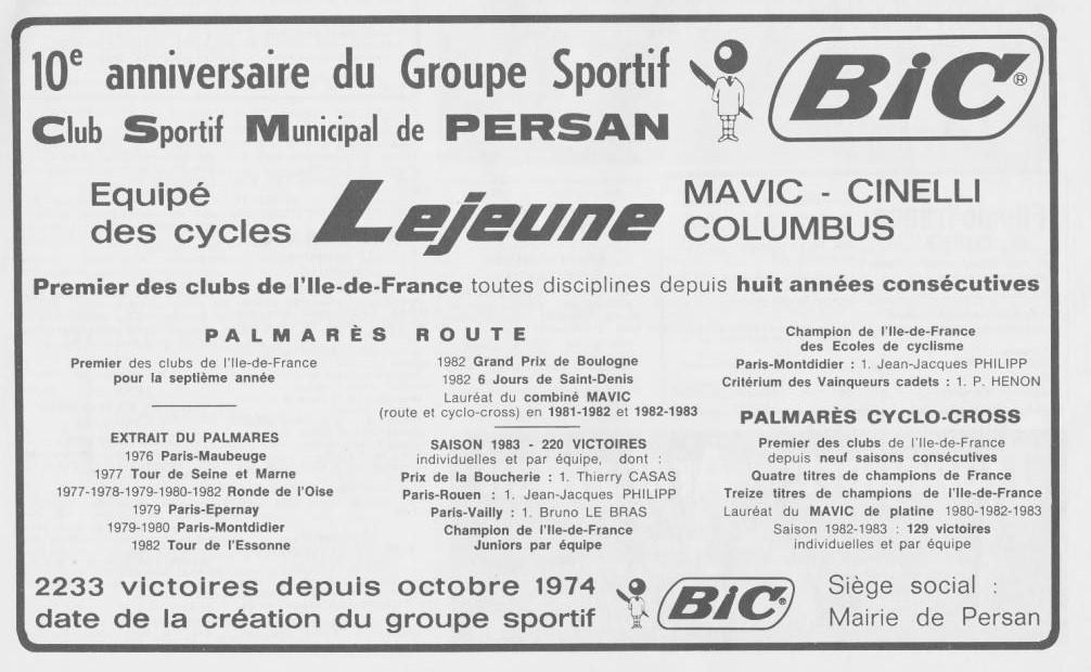 Coureurs et Clubs de septembre 1983 à .......... - Page 6 33_02210