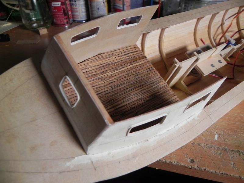 Baubericht Hadag Typ 00 Barkasse der 1950er Comp_417