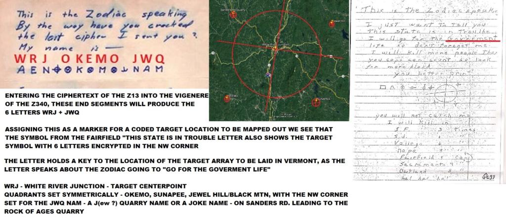 Zodiac Ciphers Solved Z13_ci10
