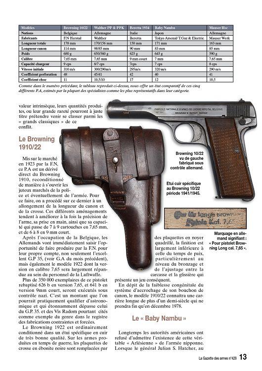Les perceptions dans la Wehrmacht. (Questions: Armes de poing/Uniformes) 13709-11