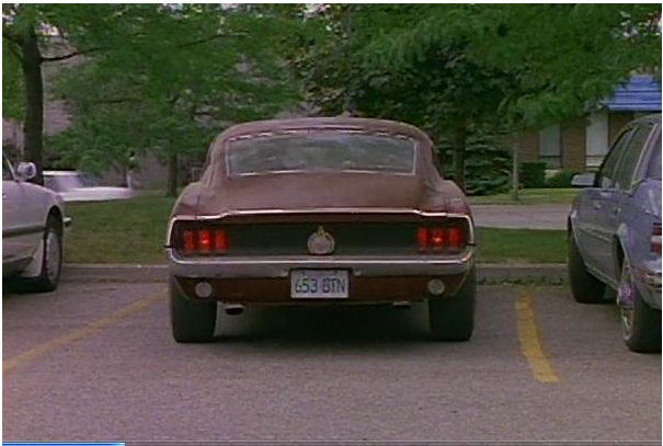 Spenser: for Hire 67 Mustang Movie Car 210