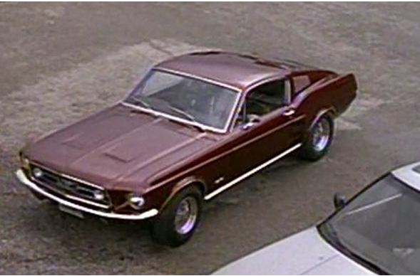 Spenser: for Hire 67 Mustang Movie Car 311
