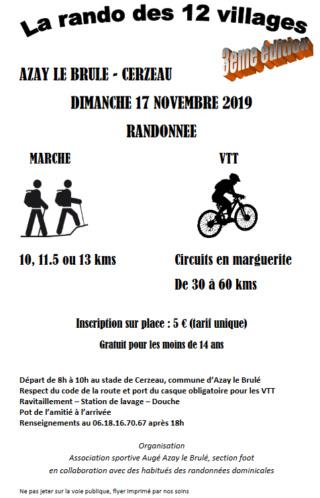 AZAY LE BRULE - CERZEAU (79) - La rando aux 12 villages - dimanche 17 novembre 2019 Captur15