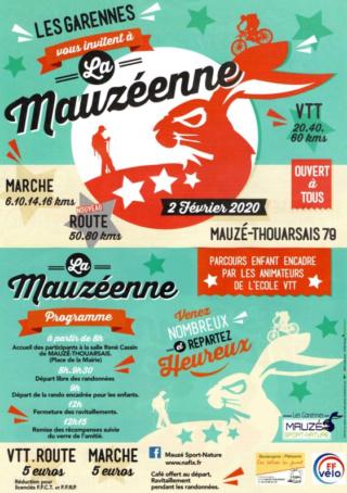 MAUZE-THOUARSAIS (79) - La Mauzéenne - dimanche 2 février 2020 Captur17