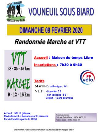 Vouneuil sous Biard (86) - Rando de la vallée de la Boivre - dimanche 9 février 2020 Captur19
