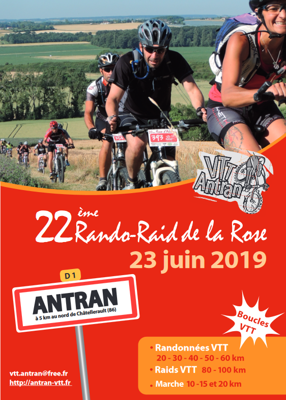 Antran (86) Rando Raid de la Rose - 23 juin 2019 Screen13
