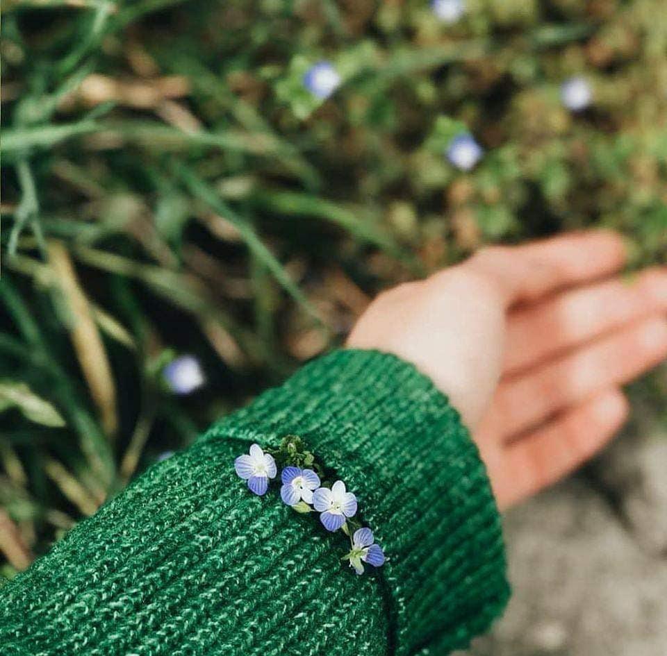 الأخضر وهوس قلبي