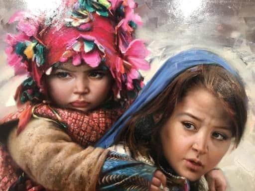 لوحات فنية للفنان الايراني رحيم