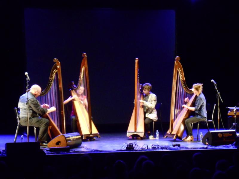 Présentation de la harpe triple galloise 11-08-10