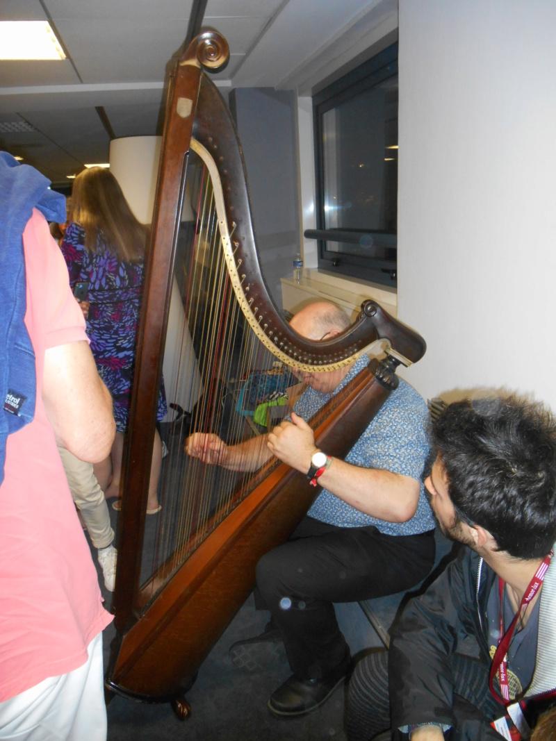 Présentation de la harpe triple galloise 11-08-11